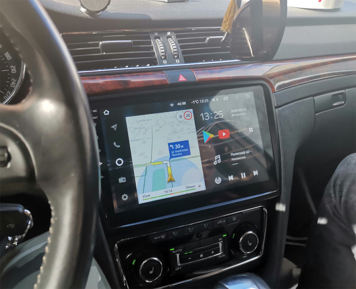 Штатные магнитолы Skoda — создайте себе комфорт в авто