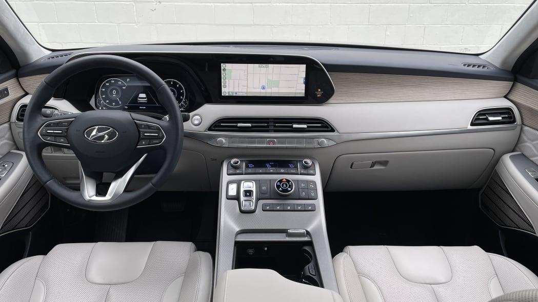 Обзор Hyundai Palisade 2022 года