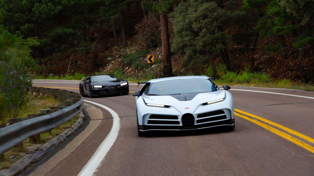 Обзор Bugatti EB110