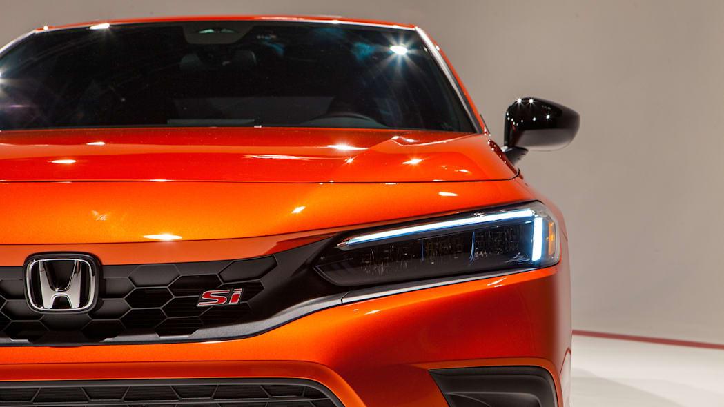 Обзор обновленного Honda Civic Si 2022